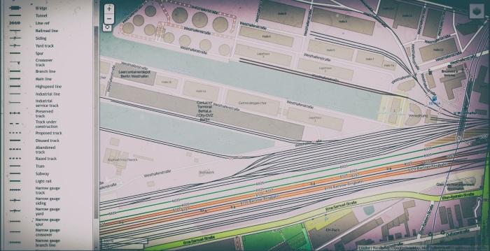 openstreetmap railport details
