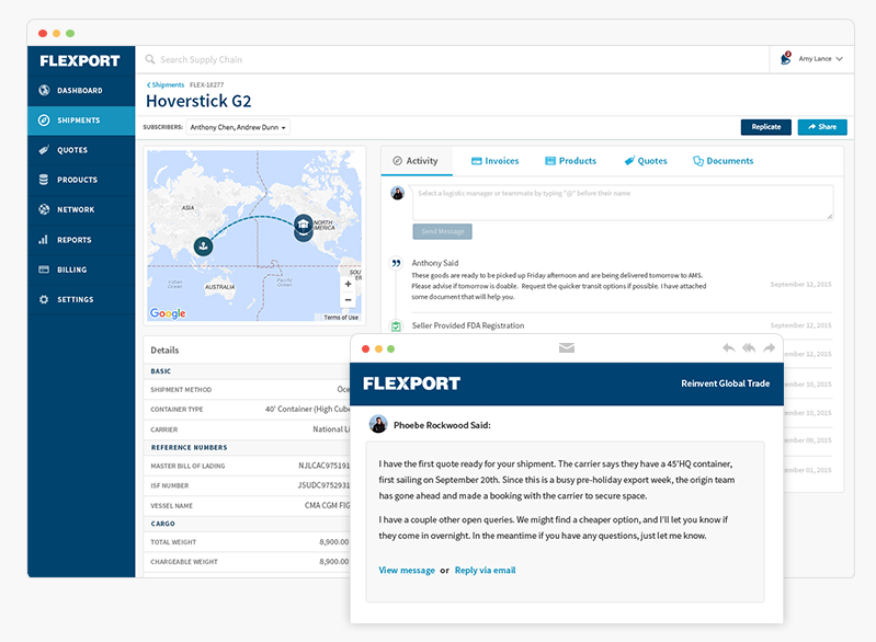 Flexport – Silicon Valley's Digital Freight Forwarder