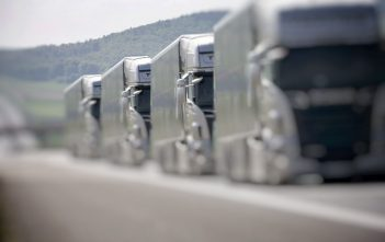Autonomous Driving and Platooning Trucks