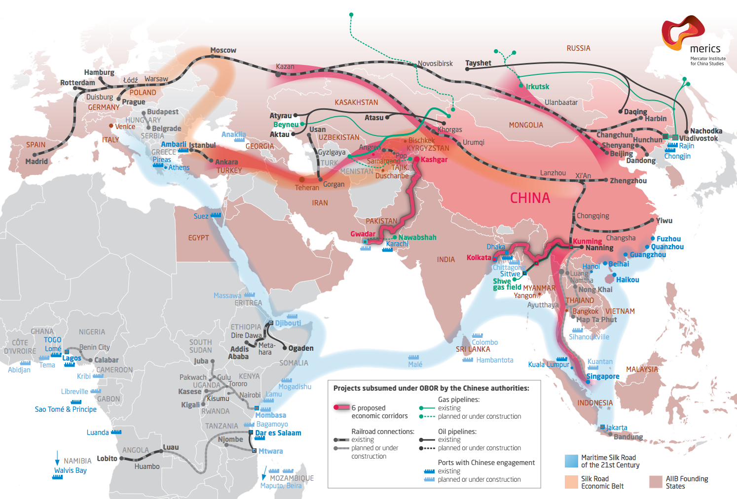 The New Silk Road The Vision Of An Interconnected