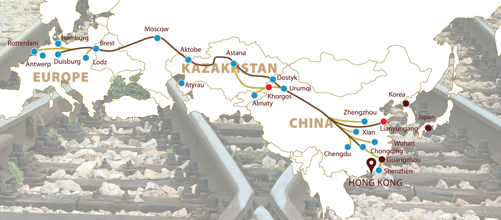 The New Silk Road The Vision Of An Interconnected Eurasia - Us new silk road map